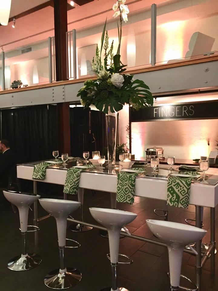Greenhouse-Inspired Wedding Reception