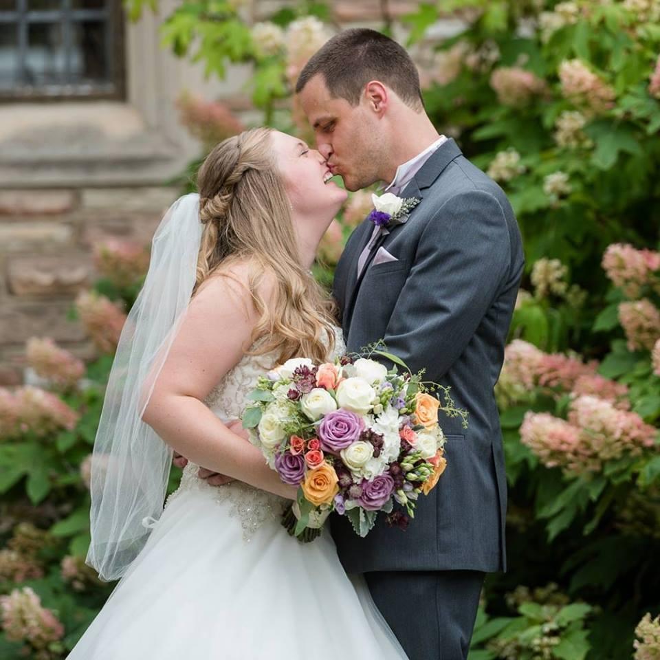 Congratulations to Becky & Robert